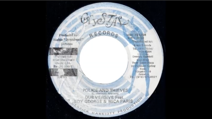 Dubversive feat. Boy George & Mica Paris – Police and Thieves [Junior Murvin]