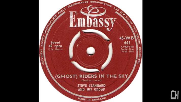 Steve Stannard & His Group ‎– (Ghost) Riders In The Sky [Stan Jones]