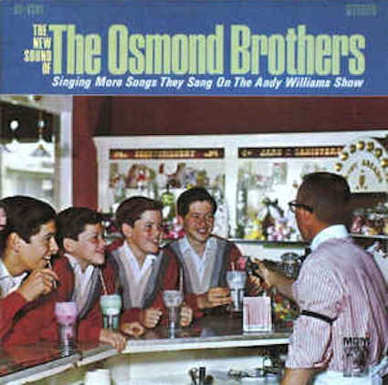 The Osmond Brothers『The New Sound Of The Osmond Brothers』