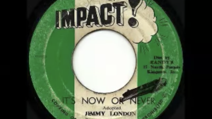 Jimmy London ‎– It's Now or Never [Elvis Presley with the Jordanaires]
