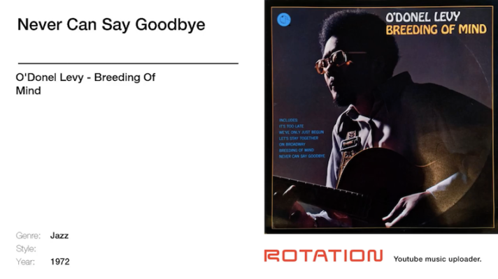 O'Donel Levy – Never Can Say Goodbye [The Jackson 5]