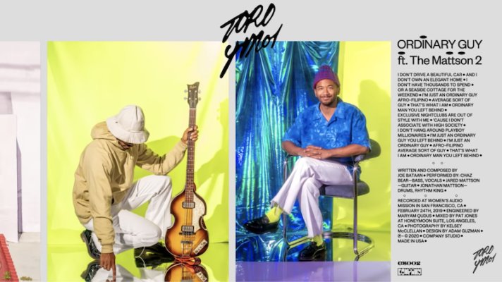 Toro y Moi feat. the Mattson 2- Ordinary Guy [Joe Bataan]
