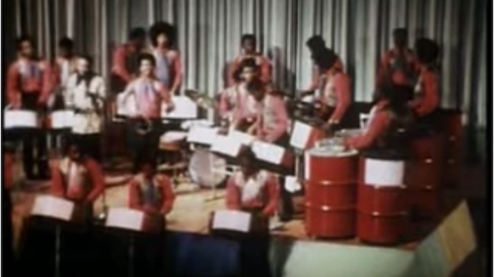 The Esso Steel Band – Cecilia [Simon & Garfunkel]