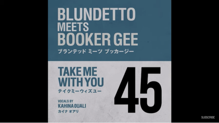 Blundetto Meets Booker Gee – Take Me With You [Lyn Christpher]