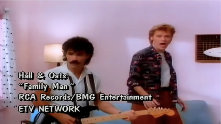 Daryl Hall & John Oates – Family Man [Mike Oldfield feat. Maggie Reilly]